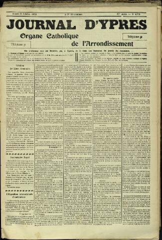 Journal d'Ypres (1874 - 1913) 1912-10-05