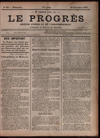 Le Progrès (1841-1914) 1897-11-21