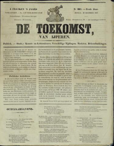 De Toekomst (1862 - 1894) 1867-12-29