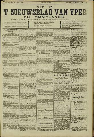 Nieuwsblad van Yperen en van het Arrondissement (1872 - 1912) 1902-08-09