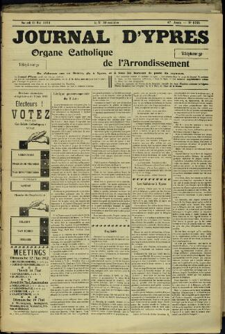 Journal d'Ypres (1874 - 1913) 1912-05-11