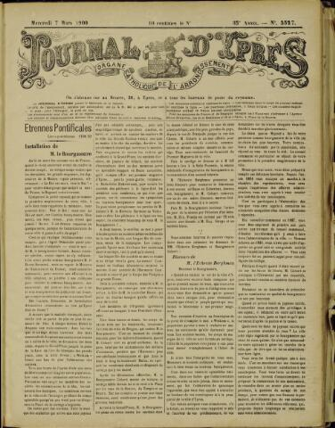 Journal d'Ypres (1874 - 1913) 1900-03-07