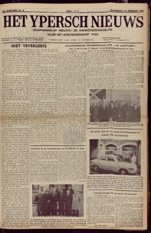 Het Ypersch nieuws (1929-1971) 1963-02-16