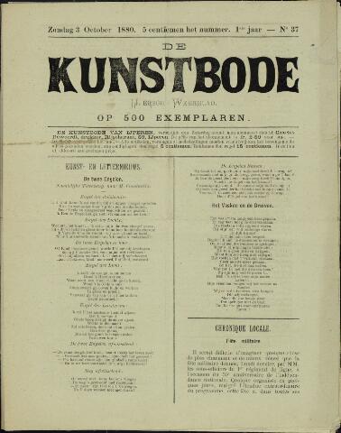 De Kunstbode (1880 - 1883) 1880-10-03