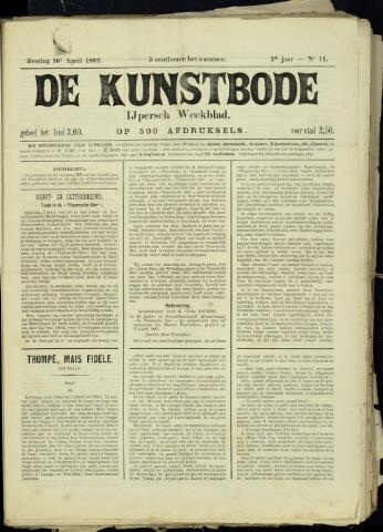 De Kunstbode (1880 - 1883) 1882-04-16
