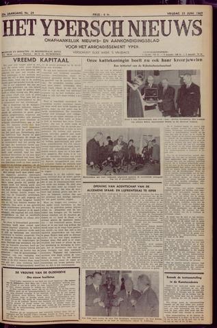 Het Ypersch nieuws (1929-1971) 1967-06-23