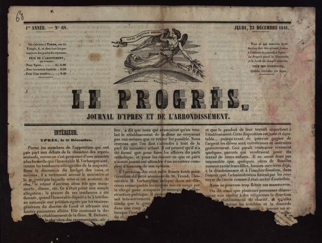 Le Progrès (1841-1914) 1841-12-23