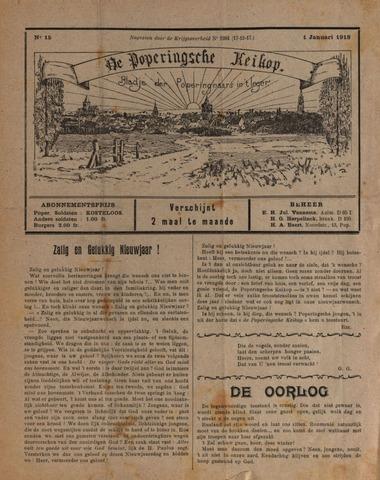 De Poperingsche Keikop (1917-1919) 1918-01-01