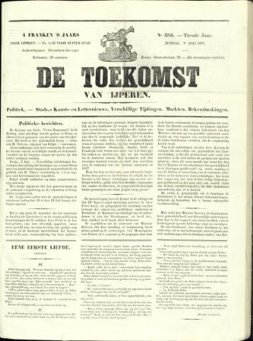 De Toekomst (1862 - 1894) 1871-07-09