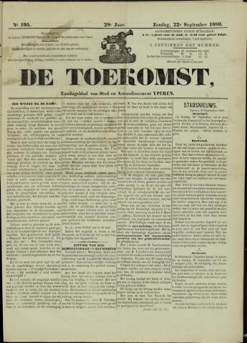 De Toekomst (1862 - 1894) 1889-09-22