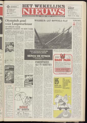 Het Wekelijks Nieuws (1946-1990) 1984-07-13