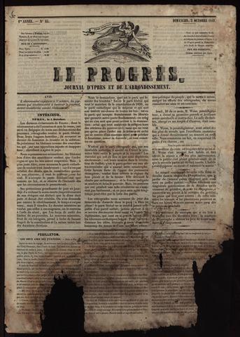 Le Progrès (1841-1914) 1841-10-03