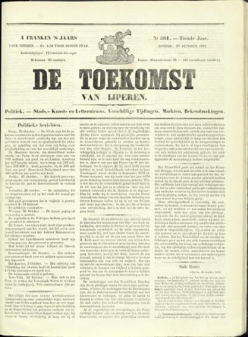 De Toekomst (1862 - 1894) 1871-10-29