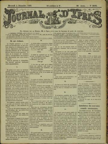 Journal d'Ypres (1874 - 1913) 1895-12-04