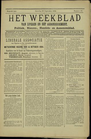 Het weekblad van Ijperen (1886 - 1906) 1894-09-23