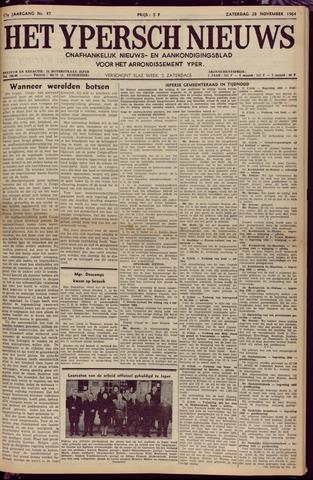 Het Ypersch nieuws (1929-1971) 1964-11-28