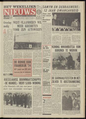 Het Wekelijks Nieuws (1946-1990) 1974-06-21