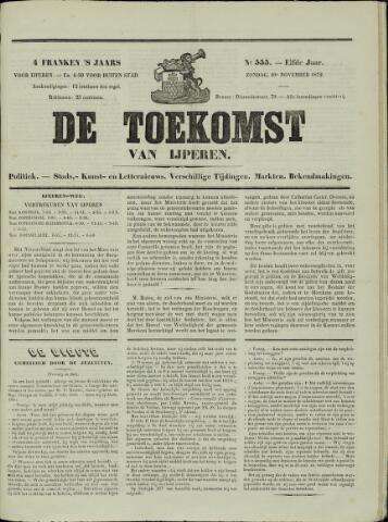 De Toekomst (1862 - 1894) 1872-11-10
