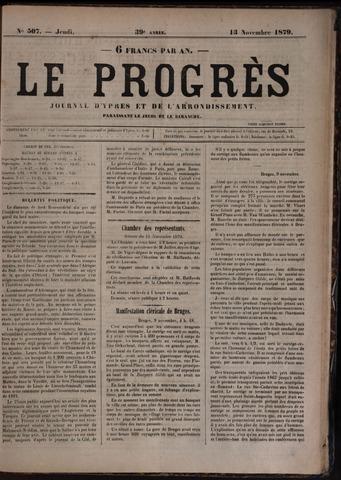 Le Progrès (1841-1914) 1879-11-13