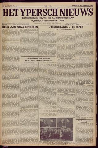 Het Ypersch nieuws (1929-1971) 1965-08-28