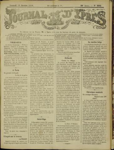 Journal d'Ypres (1874 - 1913) 1898-10-19