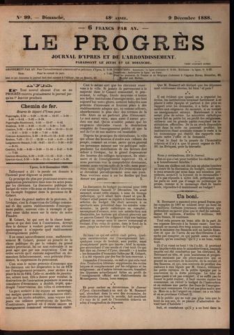 Le Progrès (1841-1914) 1888-12-09