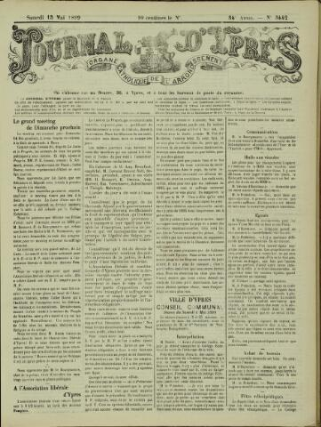 Journal d'Ypres (1874 - 1913) 1899-05-13