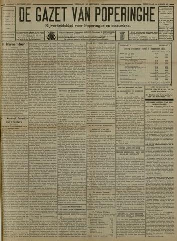 De Gazet van Poperinghe  (1921-1940) 1931-11-15