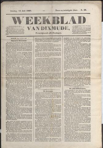 Weekblad van Dixmude 1867