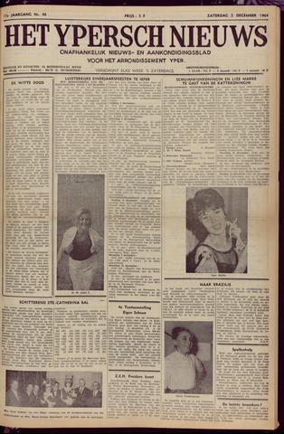 Het Ypersch nieuws (1929-1971) 1964-12-05