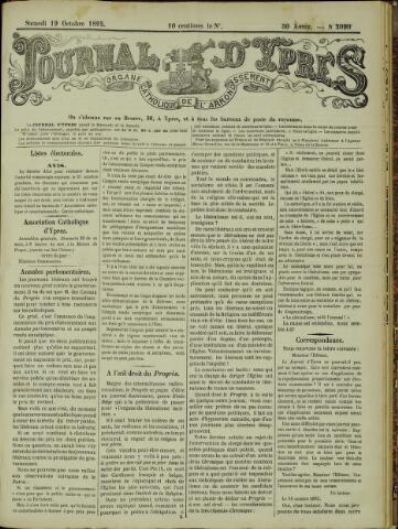 Journal d'Ypres (1874 - 1913) 1895-10-19