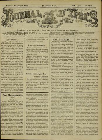 Journal d'Ypres (1874 - 1913) 1898-01-26