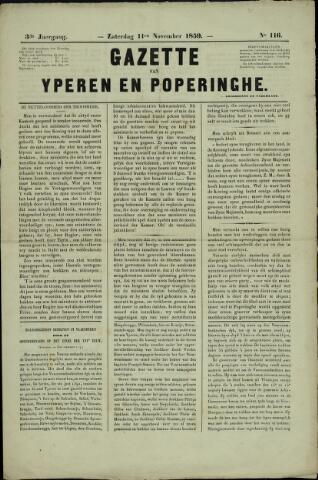 Gazette van Yperen (1857-1862) 1859-11-11