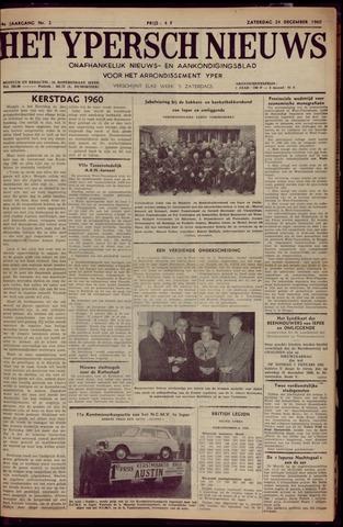 Het Ypersch nieuws (1929-1971) 1960-12-24