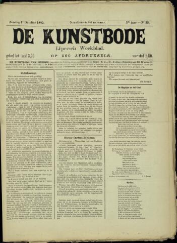 De Kunstbode (1880 - 1883) 1882-10-01