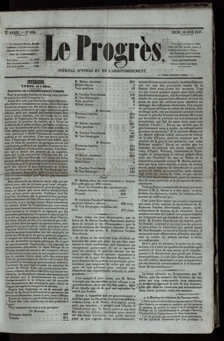 Le Progrès (1841-1914) 1847-06-10