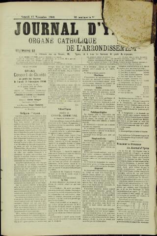 Journal d'Ypres (1874 - 1913) 1906-11-17