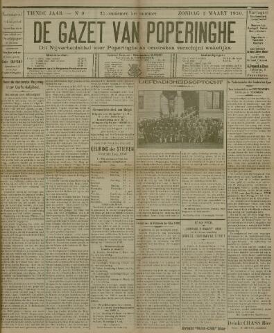 De Gazet van Poperinghe  (1921-1940) 1930-03-02