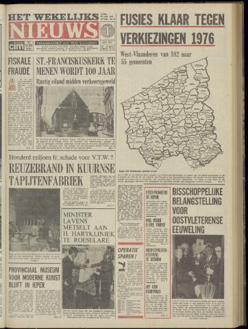 Het Wekelijks Nieuws (1946-1990) 1974-09-13