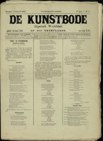 De Kunstbode (1880 - 1883) 1881-02-06