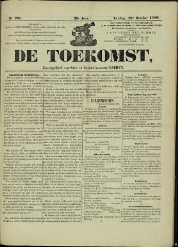 De Toekomst (1862 - 1894) 1889-10-20