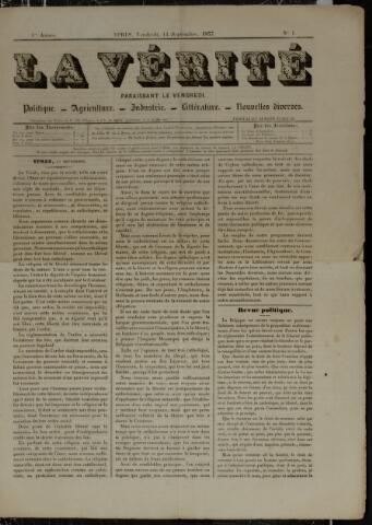 La Vérité (1857-1859) 1857