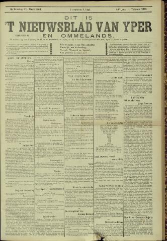 Nieuwsblad van Yperen en van het Arrondissement (1872 - 1912) 1905-03-25