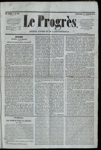 Le Progrès (1841-1914) 1847-01-24