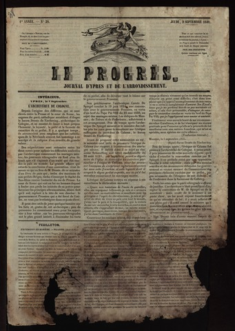 Le Progrès (1841-1914) 1841-09-09