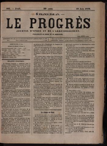 Le Progrès (1841-1914) 1879-06-19
