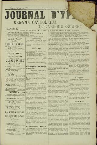 Journal d'Ypres (1874 - 1913) 1906-01-20