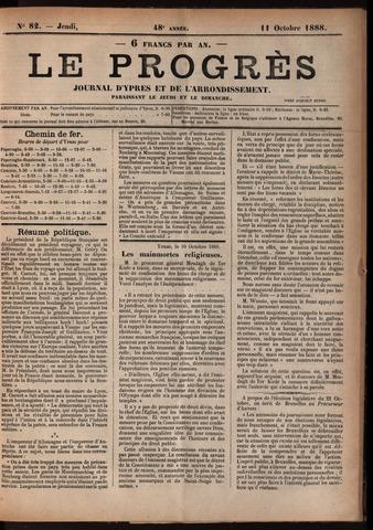 Le Progrès (1841-1914) 1888-10-11