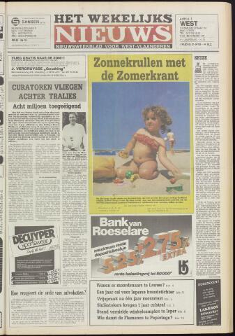 Het Wekelijks Nieuws (1946-1990) 1985-06-21