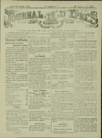 Journal d'Ypres (1874 - 1913) 1899-01-28